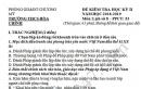 Đề thi kì 2 môn Sử lớp 8 - THCS Hòa Chính 2019