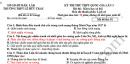 Đề thi thử THPTQG 2019 môn Sử - THPT Lê Hữu Trác lần 3