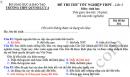 Đề thi thử THPTQG môn Sinh năm 2019 - THPT Quỳnh Lưu 4 lần 3