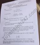 Đáp án đề thi vào lớp 10 môn Toán Chuyên - THPT Chuyên KHTN 2019