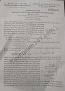 Đáp án đề thi vào lớp 10 môn Lí của trường THPT chuyên ĐH SP HN
