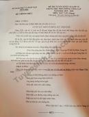 Đáp án đề thi vào lớp 10 môn Văn 2019 tỉnh Bến Tre