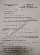 Đề thi thử vào lớp 10 môn Toán năm 2019 THCS Nguyễn Trường Tộ