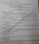 Đáp án đề thi vào lớp 10 môn Văn tỉnh Tây Ninh 2019