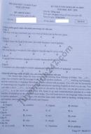 Đáp án đề thi vào lớp 10 môn Tiếng anh tỉnh Yên Bái năm 2019
