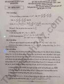 Đề thi vào lớp 10 môn Toán Chuyên- THPT Chuyên Nguyễn Trãi năm 2019