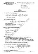 Đề thi KSCL môn toán lớp 9 THCS Chu Văn An năm 2018-2019