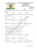 Đề thi khảo sát môn Toán lớp 11 Trường THPT Thuận Thành 1 năm 2018-2019