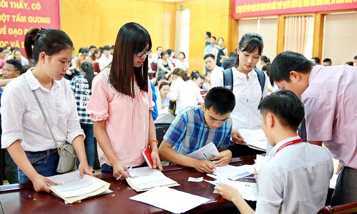 Hồ sơ nhập học năm 2019 - Tất cả các trường