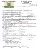 Đề kiểm tra đầu năm lớp 12 môn Hóa Trường THPT Thuận Thành 1 năm 2019