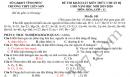 Đề khảo sát chất lượng môn Hóa lớp 11 THPT Liễn Sơn 2019