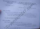 Đề thi chọn HSG cấp tỉnh môn Văn 2020 - Sở GD Vĩnh Long