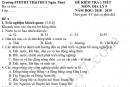 Đề kiểm tra 1 tiết HK1 lớp 9 môn Địa 2019 - THCS Ngân Thủy