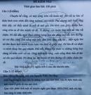 Đề thi HSG lớp 12 môn Văn 2020 - THPT Lý Thường Kiệt