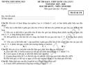 Đề thi thử THPTQG môn Sinh 2020 - THPT Đồng Đậu lần 1