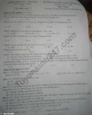 Đề thi giữa kì 1 lớp 6 môn Toán 2019 - huyện Xuân Trường