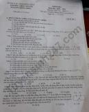 Đề kiểm tra giữa kì 1 lớp 11 môn Lý THPT Chuyên Nguyễn Đình Chiểu 2019