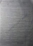 Đề thi thử THPTQG 2020 môn Hóa THPT Chuyên Thái Bình lần 1