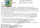 Đề cương ôn tập kì 1 lớp 10 môn Toán 2019 - THPT Thuận Thành số 1