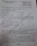 Đề thi kì 1 lớp 7 môn Toán Quận Tân Phú 2019 - 2020