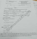 Đề thi kì 1 lớp 7 môn Toán 2019 - Phòng GD Thạch Thất (Có đáp án)