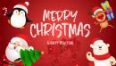 Bộ thiệp chúc mừng Giáng Sinh 2019 đẹp và ý nghĩa