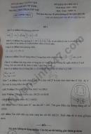 Đề thi kì 1 lớp 11 môn Toán THPT Phạm Phú Thứ 2019