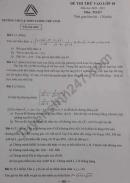 Đề thi thử vào lớp 10 môn Toán 2020 THCS THPT Lương Thế Vinh