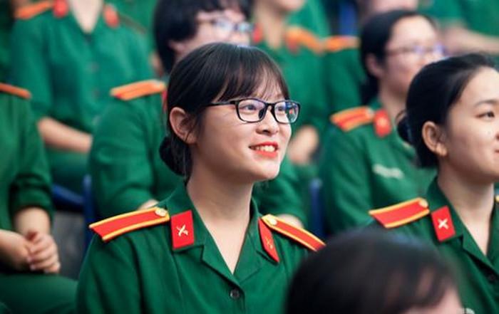 Chỉ tiêu tuyển sinh vào tất cả các trường quân đội năm 2020