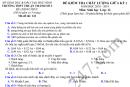 Đề kiểm tra giữa kì 2 lớp 12 môn Sinh 2019 THPT Thuận Thành 3