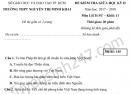 Đề kiểm tra giữa kì 2 lớp 11 môn Sử THPT Nguyễn Thị Minh Khai 2018
