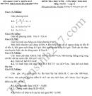 Đề thi học kì 2 môn Toán lớp 8 THCS Nguyễn Tri Phương 2019
