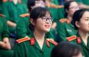 Khối trường Quân đội công bố phương thức tuyển sinh năm 2020