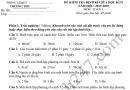 Đề thi giữa kì 2 lớp 5 môn Toán 2020 - TH Kỳ Phú