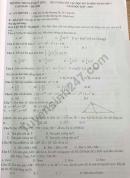 Đề cương ôn tập kì 2 lớp 7 môn Toán 2020 - THCS Lê Quý Đôn