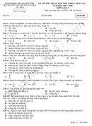 Đề thi thử môn Lý thi THPTQG 2020 THPT Nguyễn Trung Thiên