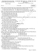 Thi thử THPTQG 2020 môn Sử THPT Nguyễn Trung Thiên