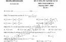 Đề cương ôn tập kì 2 lớp 12 môn Toán - THPT Kim Liên 2020