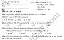 Đề kiểm tra giữa kì 2 môn Toán lớp 5 TH Ngô Gia Tự 2020
