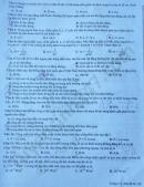 Đề thi thử môn Lý THPTQG 2020 THPT chuyên Biên Hòa lần 1