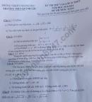 Đề thi thử vào lớp 10 môn Toán 2020 - THCS Quỳnh Lộc