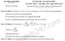 Đề thi thử vào lớp 10 môn Toán - Sở GD Ninh Bình 2020