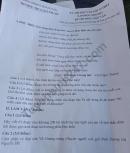 Đề thi thử vào lớp 10 môn Văn THCS Quỳnh Lộc 2020