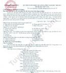 Đề thi thử vào 10 môn Văn năm 2020 Tỉnh Vĩnh Phúc