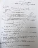 Đề thi thử vào lớp 10 môn Toán trường THCS Trần Nhân Tông