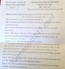Đề thi học kì 2 môn Văn lớp 8 THCS Khánh Hà năm 2020