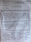 Đề thi kì 2 lớp 11 môn Anh 2020 - Sở GD Vĩnh Phúc