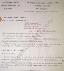 Đề thi thử vào lớp 10 THCS Hiên Vân năm 2020 môn Văn lần 2