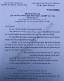 Đáp án đề thi vào lớp 10 môn Văn - Chuyên sư phạm Hà Nội 2020