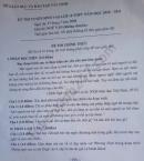 Đáp án đề thi vào lớp 10 môn Văn tỉnh Tây Ninh năm 2020